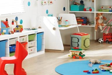 mit aufbewahrungsboxen wird ordnung zum kinderspiel bild. Black Bedroom Furniture Sets. Home Design Ideas