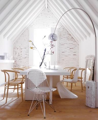 know how eine ausdrucksstarke bogenlampe ersetzt die tischleuchte bild 13 sch ner wohnen. Black Bedroom Furniture Sets. Home Design Ideas