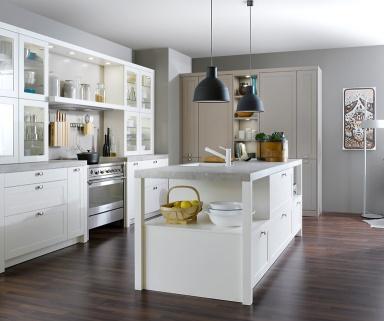 wei und wohnlich carr fs von leicht k chen bild 16 sch ner wohnen. Black Bedroom Furniture Sets. Home Design Ideas