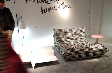 sofa togo von ligne roset wird 40 sch ner wohnen. Black Bedroom Furniture Sets. Home Design Ideas