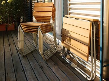 balkonm bel aus rattan holz oder metall sch ner wohnen. Black Bedroom Furniture Sets. Home Design Ideas