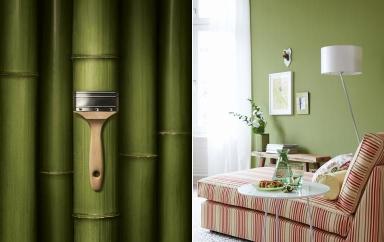 wohnen mit farben trendfarbe bamboo bild 3 sch ner wohnen. Black Bedroom Furniture Sets. Home Design Ideas