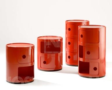 """dinge, die man braucht: retro-futurismus: container """"componibili, Badezimmer"""