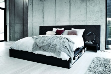 betten mit stauraum sch ner wohnen. Black Bedroom Furniture Sets. Home Design Ideas
