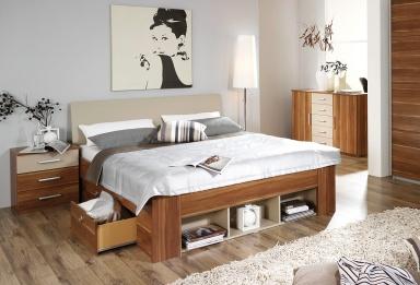 betten mit stauraum sch ner wohnen. Black Bedroom Furniture Sets. Home Design Ideas