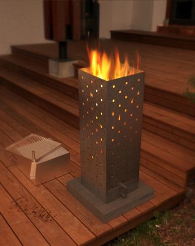 handgefertigter feuerkorb vulcanus ausgew hlte feuerk rbe und feuerschalen 10 sch ner wohnen. Black Bedroom Furniture Sets. Home Design Ideas