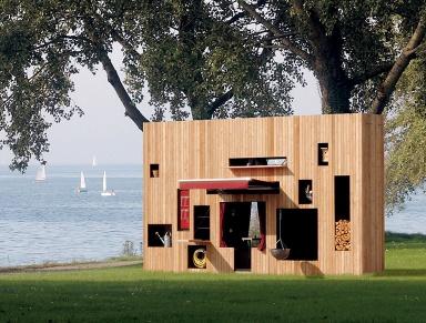 design gartenh user fertig zu kaufen sch ner wohnen. Black Bedroom Furniture Sets. Home Design Ideas