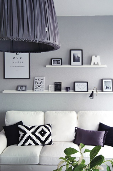 modernes haus wohnzimmer schwarz weiß grau ? bezdesign. wohnzimmer ... - Bilder Wohnzimmer Schwarz Weiss
