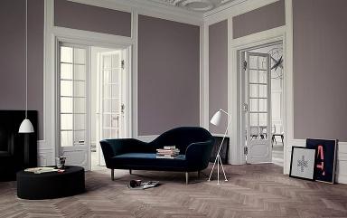 wohnen mit farben: vorhandene wandstrukturen farbig gestalten, Wohnzimmer design