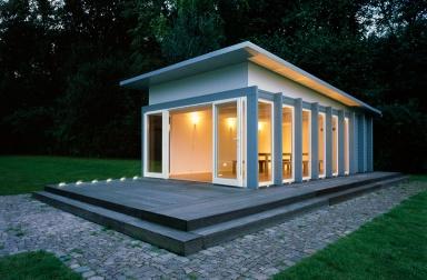 durchdacht gartenlaube von zweithaus bild 13 sch ner wohnen. Black Bedroom Furniture Sets. Home Design Ideas