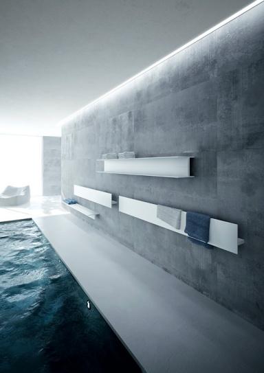 fotostrecke heizk rper f r wohnr ume bad und flur sch ner wohnen. Black Bedroom Furniture Sets. Home Design Ideas