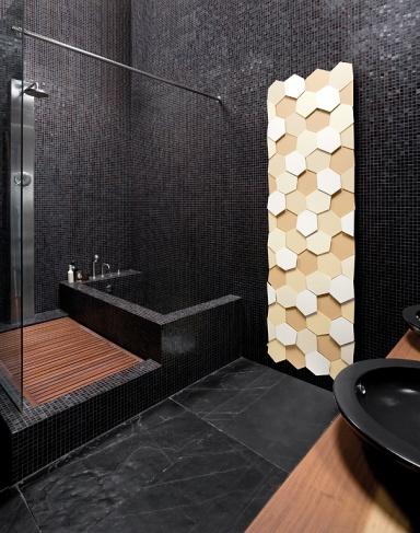 waben heizk rper honey von caleido bild 2 sch ner wohnen. Black Bedroom Furniture Sets. Home Design Ideas