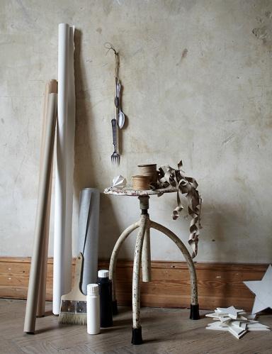 adventsdeko aus papier ideen zum selbermachen sch ner. Black Bedroom Furniture Sets. Home Design Ideas
