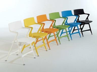 klappstuhl aus holz alu f r garten oder k che sch ner wohnen. Black Bedroom Furniture Sets. Home Design Ideas