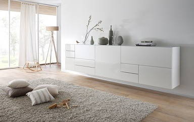 sideboards stauraumm bel mit modernem design sch ner wohnen. Black Bedroom Furniture Sets. Home Design Ideas
