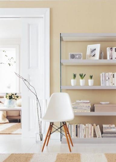 wohnliche sandfarbt ne und wei bild 12 sch ner wohnen. Black Bedroom Furniture Sets. Home Design Ideas