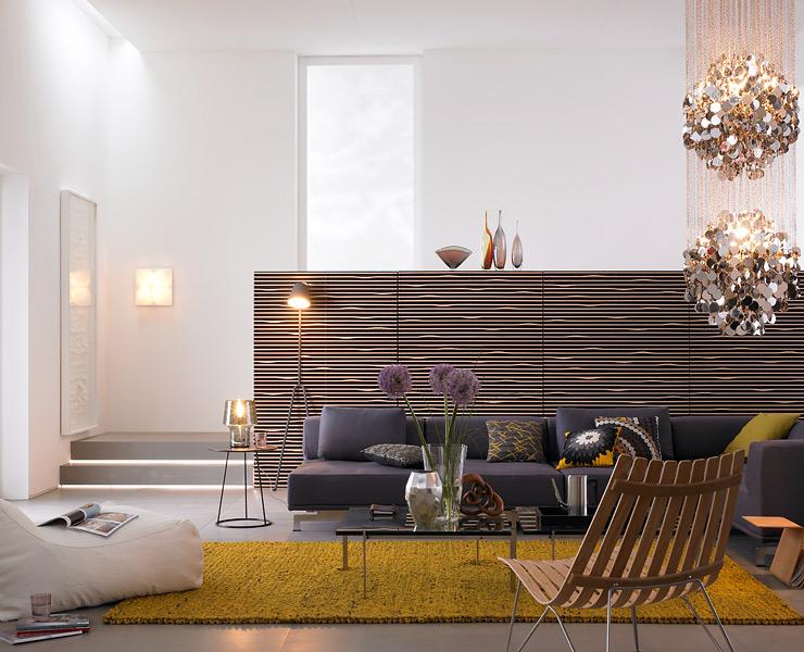 skandinavischer glamour im wohnzimmer wohnzimmer sch ner wohnen. Black Bedroom Furniture Sets. Home Design Ideas