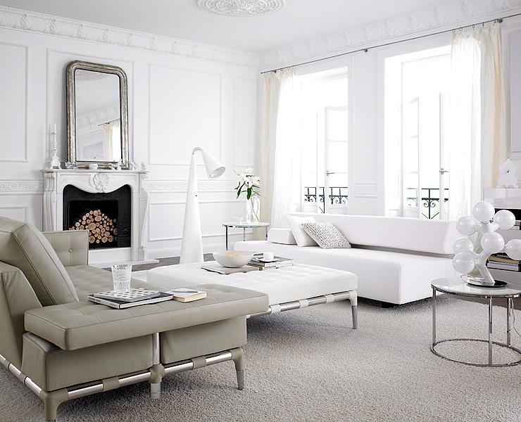 wohnzimmer in wei wohnzimmer sch ner wohnen. Black Bedroom Furniture Sets. Home Design Ideas