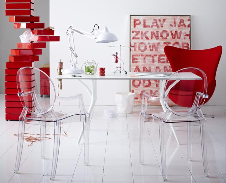 anregendes arbeitszimmer in rot wei arbeitszimmer. Black Bedroom Furniture Sets. Home Design Ideas