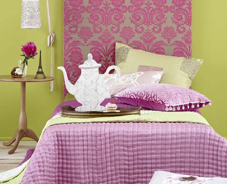 romantische stoffe stoffe sch ner wohnen. Black Bedroom Furniture Sets. Home Design Ideas
