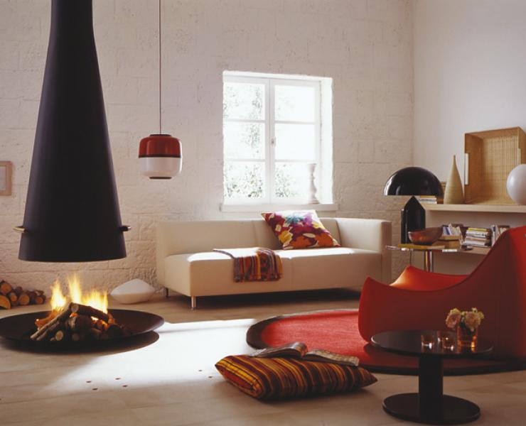 kaminzimmer ganz modern wohnzimmer sch ner wohnen. Black Bedroom Furniture Sets. Home Design Ideas