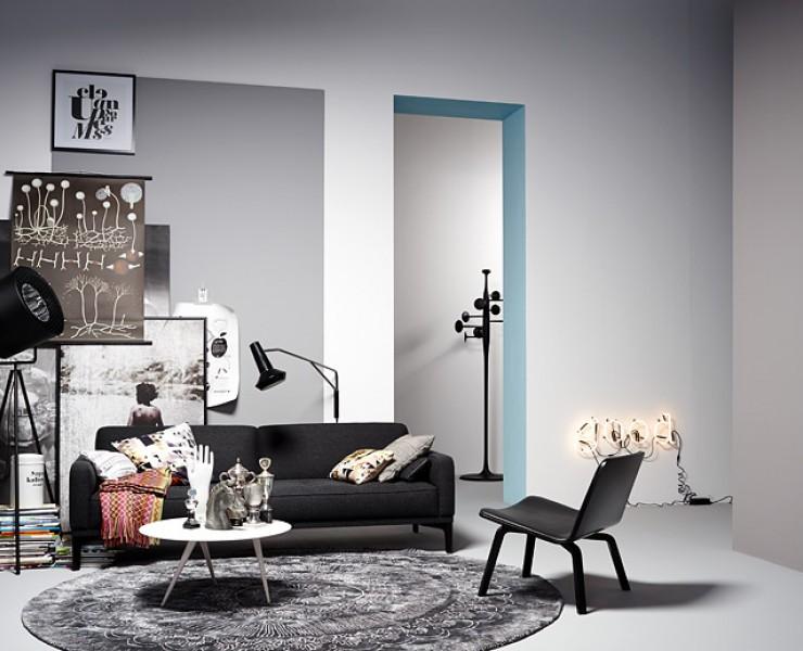 wohnzimmer mit industrie chic wohnzimmer sch ner wohnen. Black Bedroom Furniture Sets. Home Design Ideas