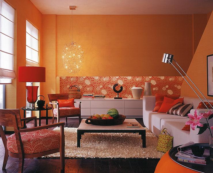 design : wohnzimmer asiatisch einrichten ~ inspirierende bilder ... - Wohnzimmer Gestalten Orange