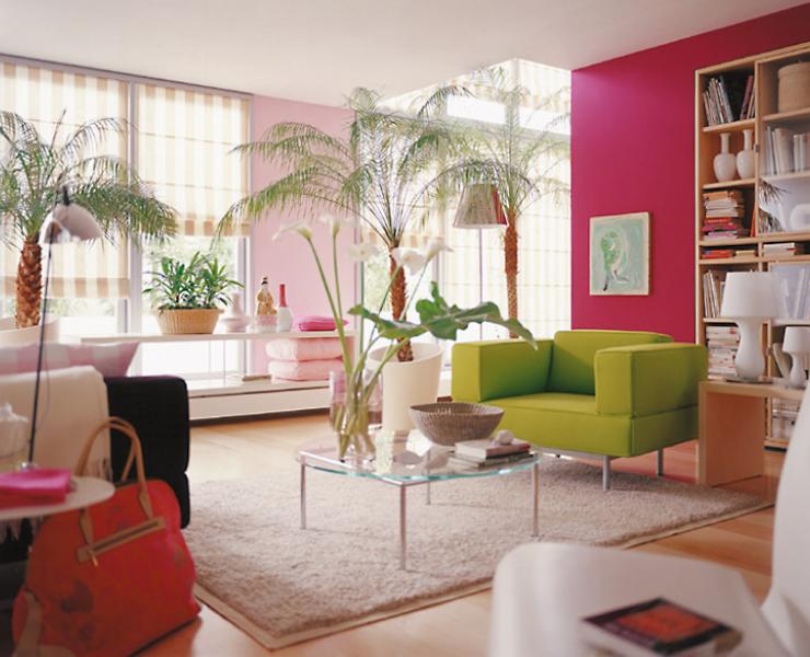 pflanzen im wohnzimmer sch ner wohnen. Black Bedroom Furniture Sets. Home Design Ideas
