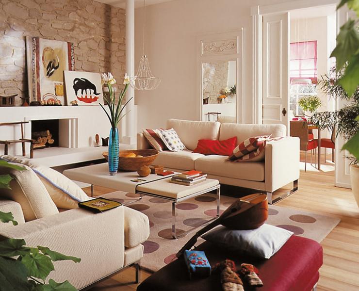 Individueller Möbelmix  Wohnzimmer  [SCHÖNER WOHNEN]