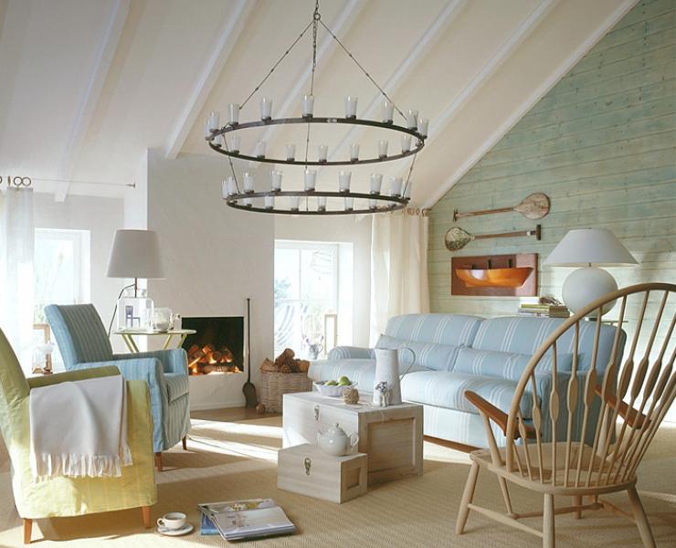 wohnraum im skandinavischen stil sch ner wohnen. Black Bedroom Furniture Sets. Home Design Ideas