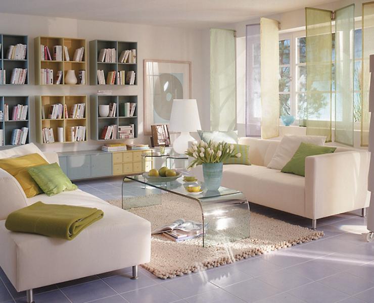 frischer look f rs wohnzimmer wohnzimmer sch ner wohnen. Black Bedroom Furniture Sets. Home Design Ideas