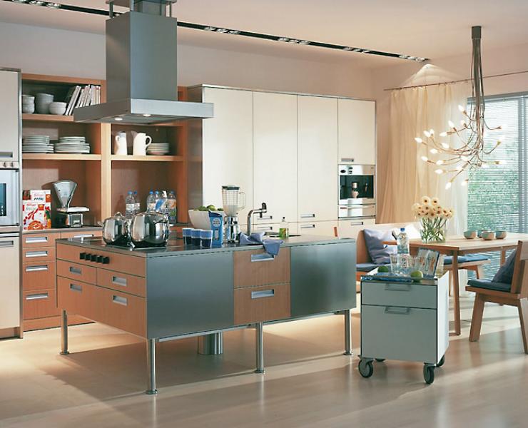 k che zum gemeinsamen kochen k che sch ner wohnen. Black Bedroom Furniture Sets. Home Design Ideas