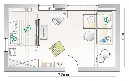 Alles unter dach und fach wohnzimmer sch ner wohnen for Feng shui jugendzimmer