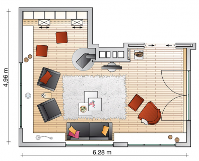 neue aufteilung wohnzimmer sch ner wohnen. Black Bedroom Furniture Sets. Home Design Ideas