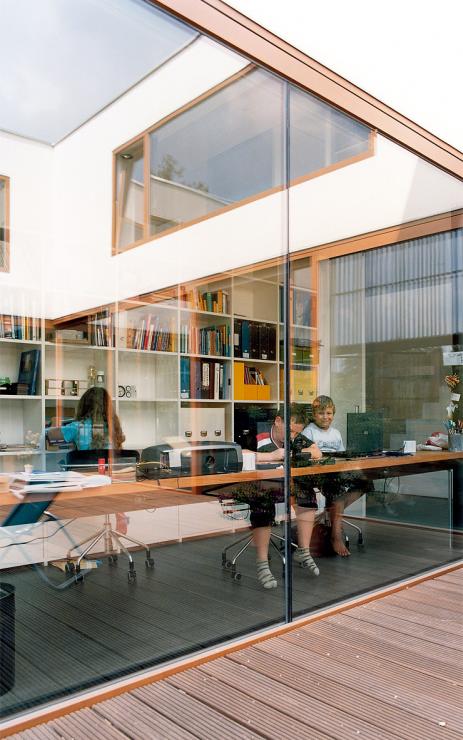 energieeffizientes einfamilienhaus hinter rankger st. Black Bedroom Furniture Sets. Home Design Ideas