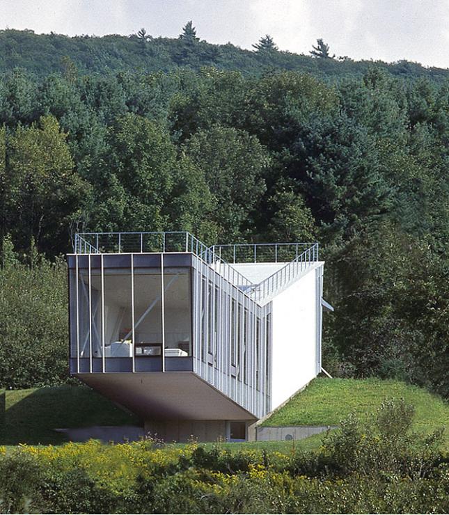 0088 Ferienhaus Haus Am See Lhvh Architekten: Ferienhäuser: Wochenendhaus Aus Glas Und Aluminium