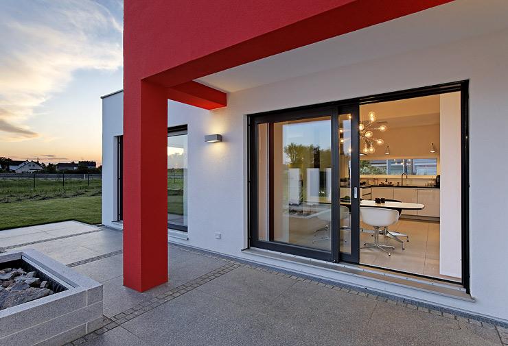 elegantes fertighaus fertigh user sch ner wohnen. Black Bedroom Furniture Sets. Home Design Ideas