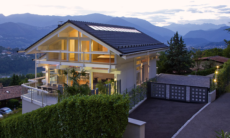 Design-fertighaus: Fertighaus Mit Fachwerk - [schÖner Wohnen] Fertighaus Moderne Architektur