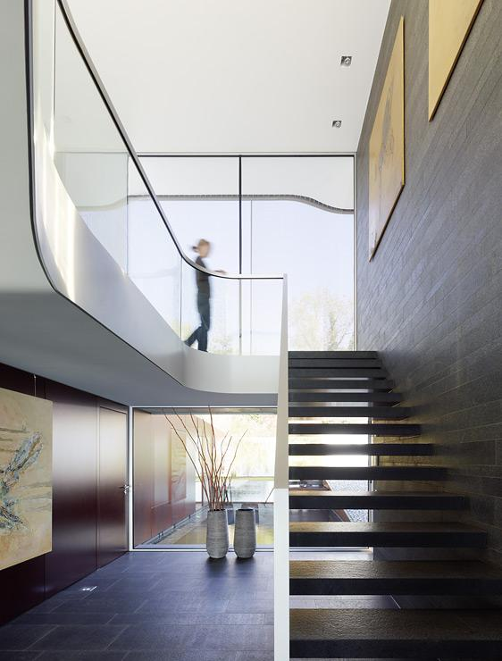 villa mit flexiblem grundriss villen sch ner wohnen. Black Bedroom Furniture Sets. Home Design Ideas