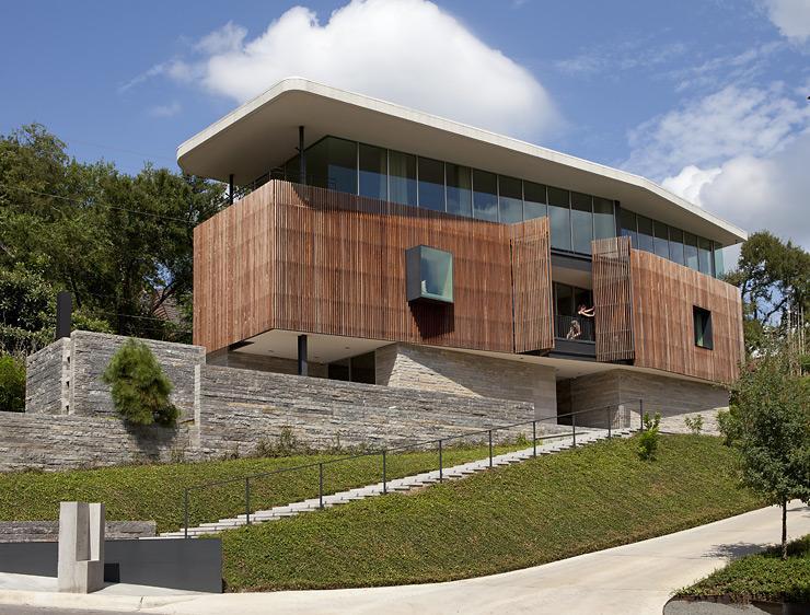 Architektenhäuser landhaus auf natursteinsockel schöner wohnen