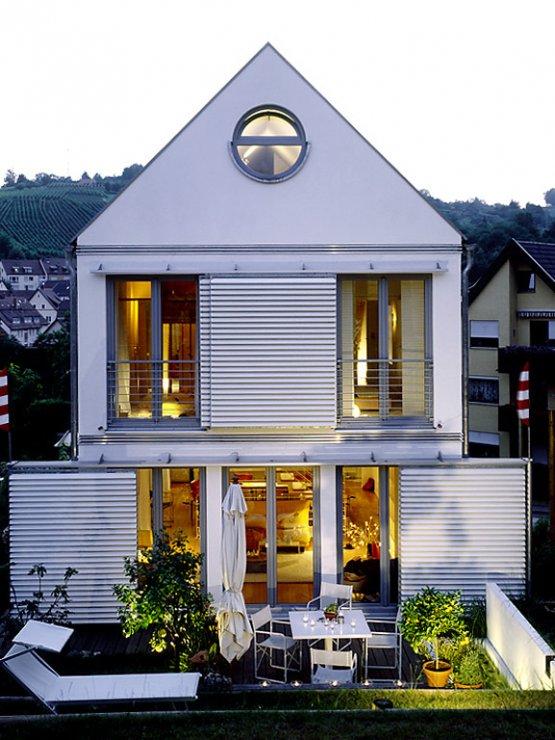 hersteller platz reduziert gestaltetes fertighaus