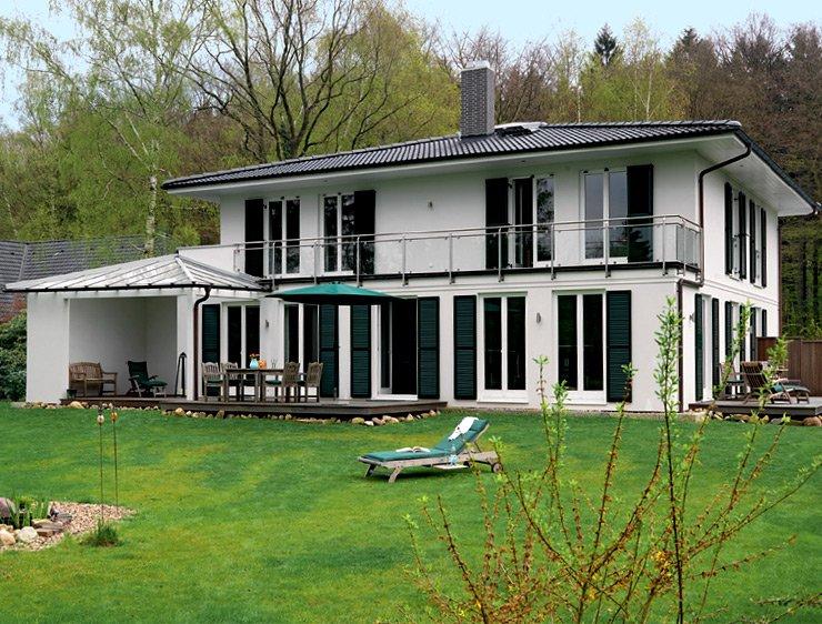 Fertighaus villa grundriss  Fertighaus: Alles über Anbieter, Modelle und Entstehung - [SCHÖNER ...