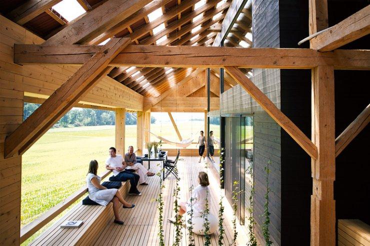 Scheune umbauen  terrace | barn conversion | Pinterest | Alte scheunen, Scheunen ...