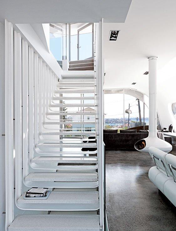 innovative villa mit aluminiumfassade villen sch ner wohnen. Black Bedroom Furniture Sets. Home Design Ideas