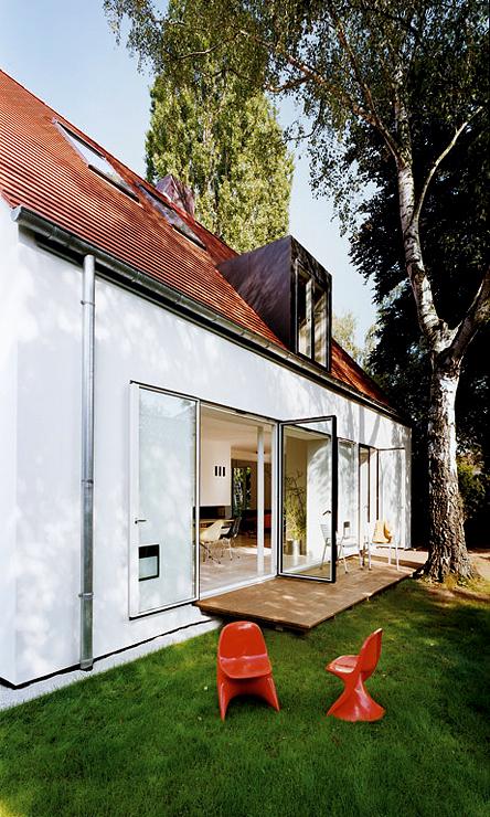 umgebautes siedlungshaus umbau sch ner wohnen. Black Bedroom Furniture Sets. Home Design Ideas