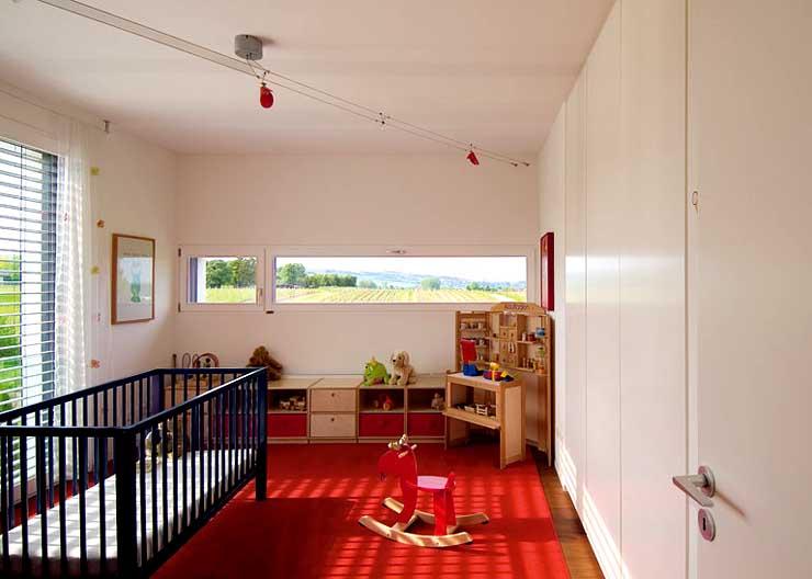 nobles flachdach familienheim hangh user sch ner wohnen. Black Bedroom Furniture Sets. Home Design Ideas