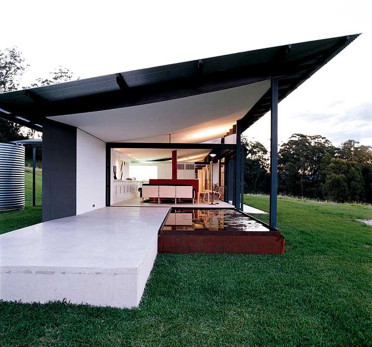 pavillonartiges ferienhaus sch ner wohnen. Black Bedroom Furniture Sets. Home Design Ideas