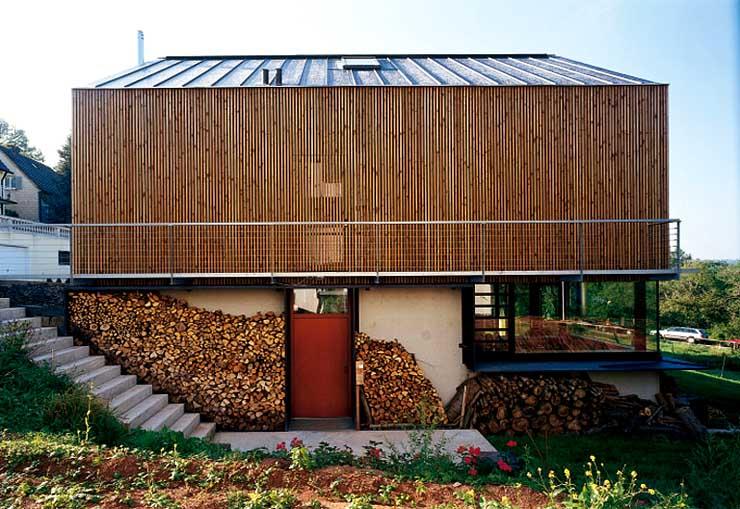 Einfamilienhaus aus Holz - [SCHÖNER WOHNEN]
