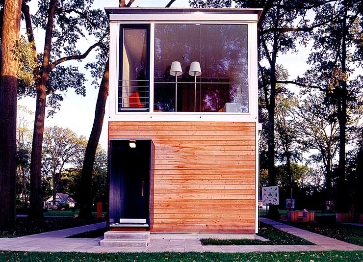 wohnhaus in modul bauweise sch ner wohnen. Black Bedroom Furniture Sets. Home Design Ideas