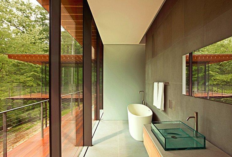 glasbungalow mit anbau bungalows sch ner wohnen. Black Bedroom Furniture Sets. Home Design Ideas